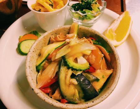 夏野菜たっぷり八宝菜!