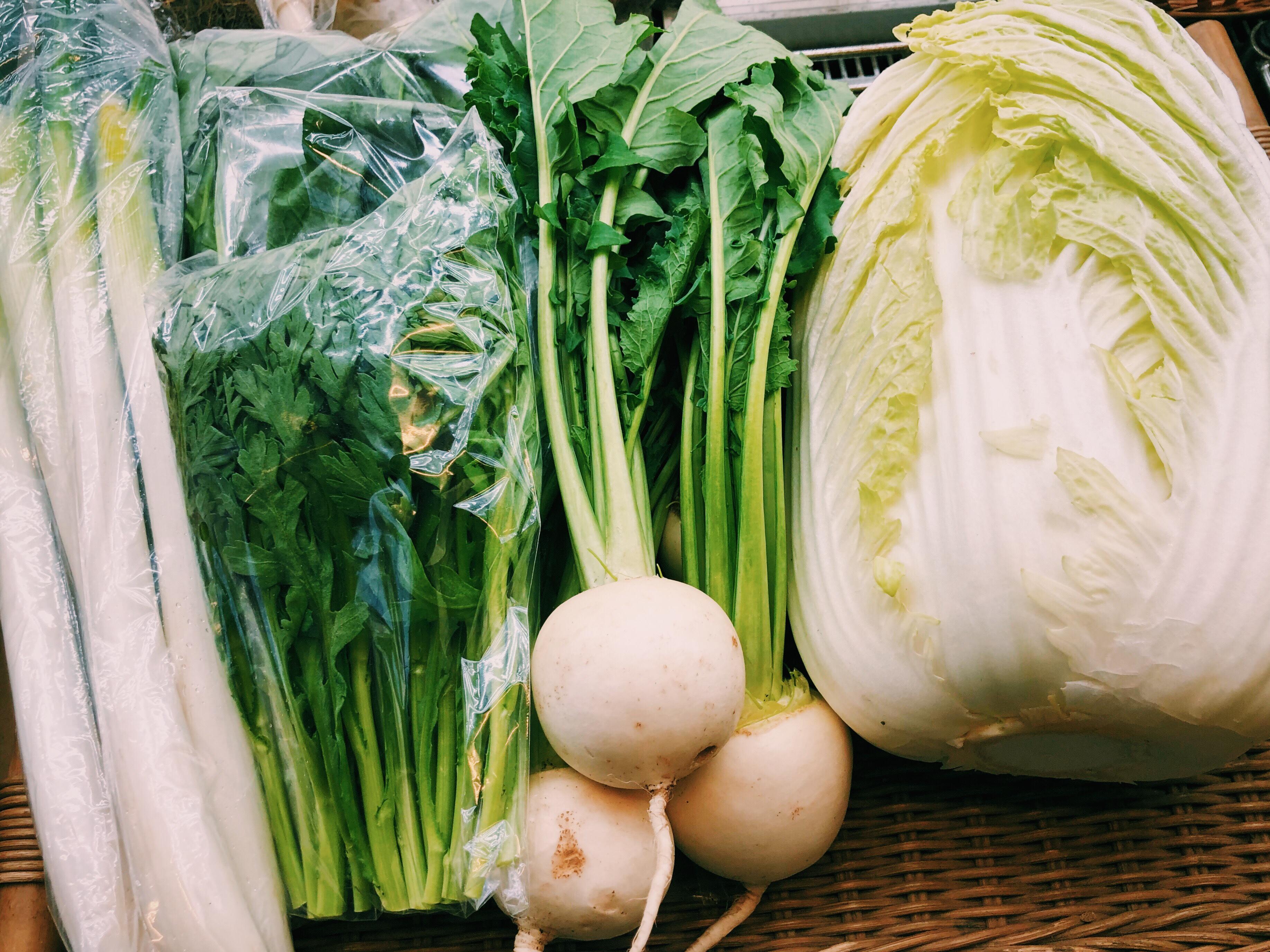 岡田さんの新鮮野菜